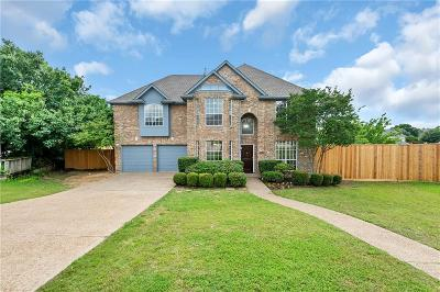Carrollton Single Family Home Active Option Contract: 1317 Barclay Drive