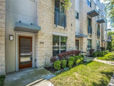 Dallas County Townhouse For Sale: 5708 La Vista Drive
