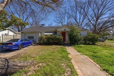 Denton Single Family Home For Sale: 1200 Coit Street