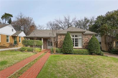 Arlington Heights Single Family Home For Sale: 4224 Calmont Avenue
