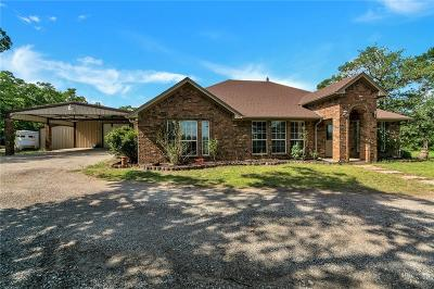 Archer County, Baylor County, Clay County, Jack County, Throckmorton County, Wichita County, Wise County Single Family Home For Sale: 1301 County Road 3555