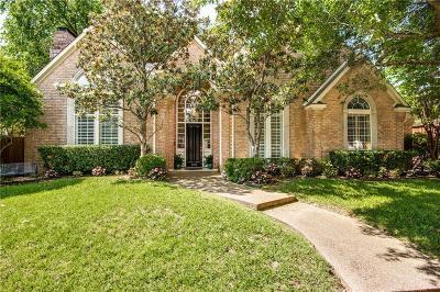 Dallas Single Family Home For Sale: 4504 Briar Oaks Circle