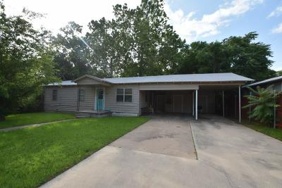 Erath County Single Family Home Active Option Contract: 1531 W Groesbeck Street