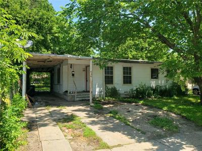 Fort Worth Single Family Home For Sale: 816 W Felix Street