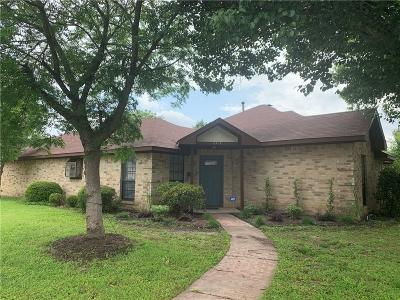 Denton Single Family Home Active Option Contract: 201 Pear Tree Place