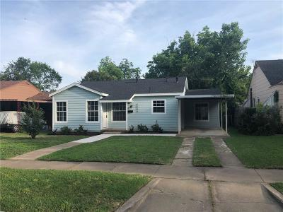 Fort Worth Single Family Home For Sale: 4009 Lovell Avenue