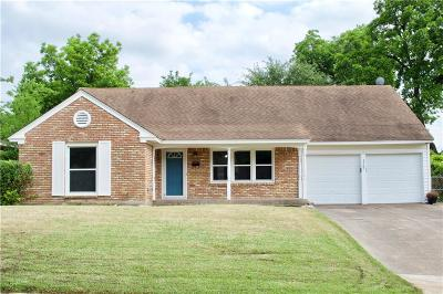 Fort Worth Single Family Home For Sale: 3501 Covert Avenue