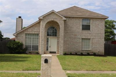 Mesquite Single Family Home For Sale: 803 Valleycreek Road