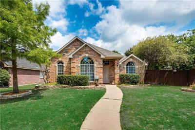 Frisco Single Family Home Active Option Contract: 9980 Buckingham Lane