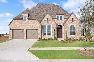 Denton County Single Family Home For Sale: 7013 Cross Point Lane