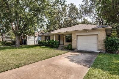 Dallas Single Family Home For Sale: 3836 Clover Lane