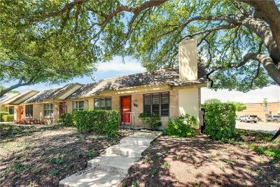 Dallas Townhouse For Sale: 13899 Brookgreen Drive