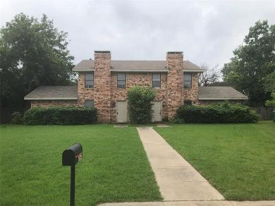 Denton County Multi Family Home For Sale: 2308 Birchbrook Court