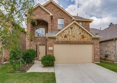 McKinney Single Family Home Active Option Contract: 220 Black Bear Drive
