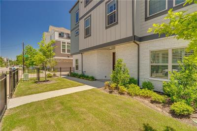 Dallas Townhouse For Sale: 5877 Orion Place