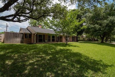 Dallas County, Denton County, Collin County, Cooke County, Grayson County, Jack County, Johnson County, Palo Pinto County, Parker County, Tarrant County, Wise County Single Family Home For Sale: 1214 Cherokee Drive