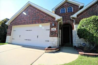 Forney Single Family Home For Sale: 1018 Brigham Drive