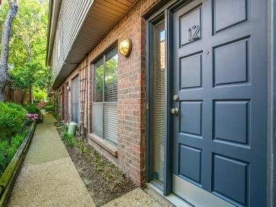 Dallas Townhouse For Sale: 4411 Gilbert Avenue #12
