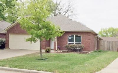 Single Family Home For Sale: 6933 Black Wing Drive
