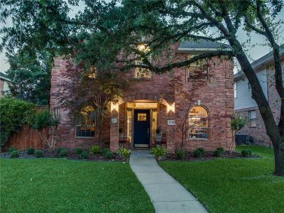 Plano Single Family Home Active Option Contract: 3112 Hoffman Drive