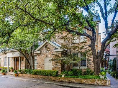 Dallas Townhouse For Sale: 7939 Caruth Court