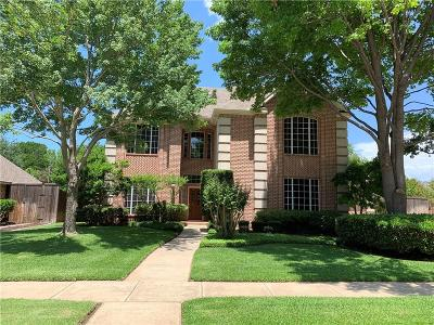 Colleyville Single Family Home Active Option Contract: 312 W Mill Valley Court