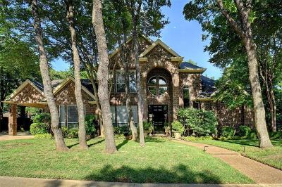 Keller Single Family Home Active Option Contract: 1319 Axton Carter Drive