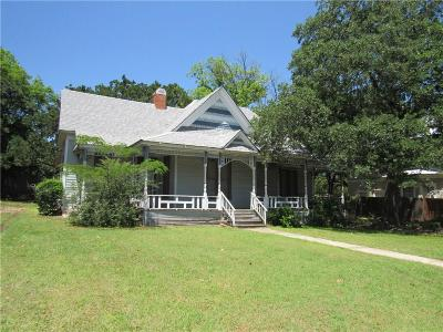 Mineral Wells Single Family Home For Sale: 508 W Hubbard