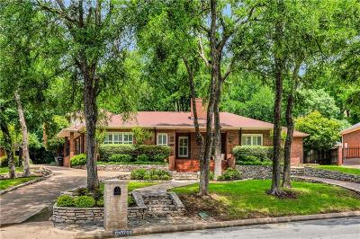 Fort Worth Single Family Home For Sale: 3709 Black Canyon Road