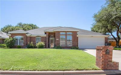 Abilene Single Family Home Active Kick Out: 16 High Life Circle