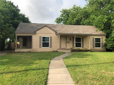 Rockwall Single Family Home Active Option Contract: 308 S Fannin Street