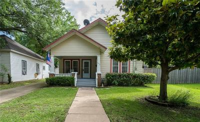 Terrell Single Family Home Active Option Contract: 601a Johnson Street