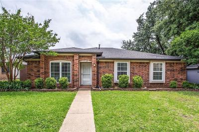 Lewisville Single Family Home Active Option Contract: 1734 Clarendon Drive