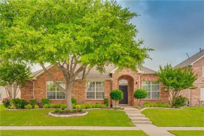 Allen Single Family Home Active Option Contract: 104 Springdale Court