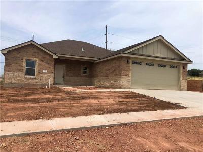 Abilene Single Family Home For Sale: 6758 Hillside Court