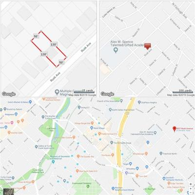 Dallas Residential Lots & Land For Sale: 4527 Rusk Avenue