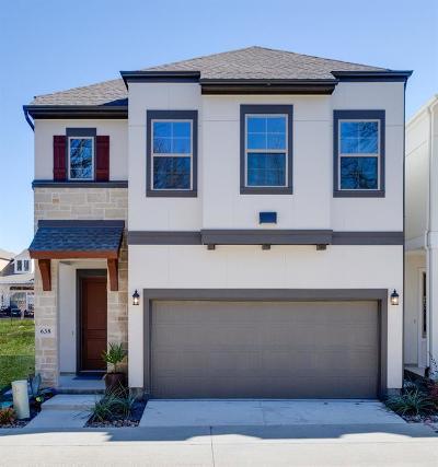 Dallas Single Family Home For Sale: 638 Promontory Lane