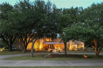 Flower Mound Single Family Home Active Option Contract: 117 Red Oak Lane