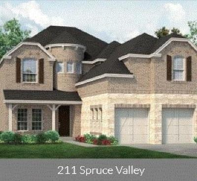 Single Family Home For Sale: 211 Spruce Valley Drive