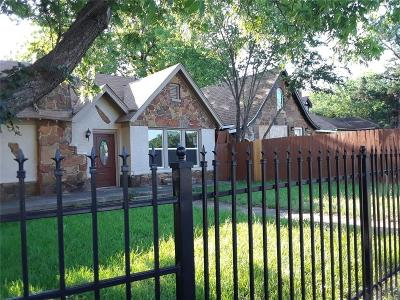 Dallas Single Family Home For Sale: 1600 S Beckley Avenue
