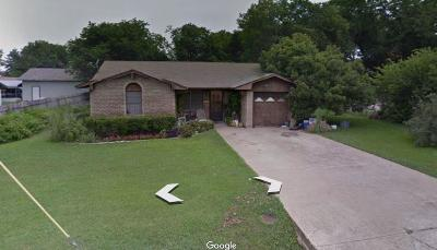 Waxahachie Single Family Home Active Option Contract: 411 N Hawkins Street