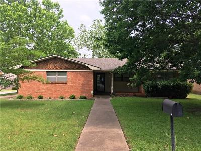 Sherman Single Family Home For Sale: 801 Hillside Drive