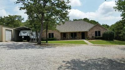 Archer County, Baylor County, Clay County, Jack County, Throckmorton County, Wichita County, Wise County Single Family Home For Sale: 147 County Road 2798
