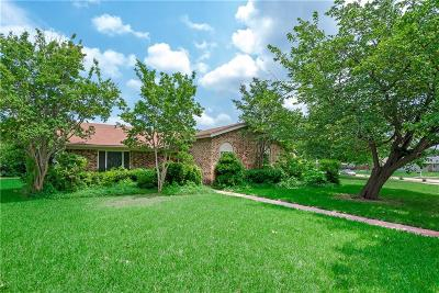 Richardson Single Family Home Active Option Contract: 1813 Windsong Trail