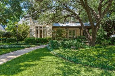 Dallas Single Family Home For Sale: 6339 Lavendale Avenue
