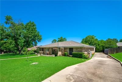 North Richland Hills Single Family Home Active Option Contract: 6525 Spring River Lane