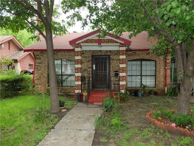 Dallas, Fort Worth Single Family Home For Sale: 5455 Bonita Avenue