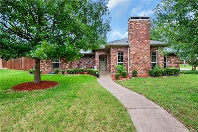 Plano Single Family Home Active Option Contract: 2900 Jeremes Landing