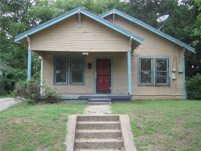 Dallas Single Family Home For Sale: 3115 Tuskegee Street