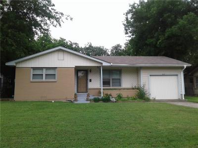 Fort Worth Single Family Home For Sale: 6613 Calmont Avenue